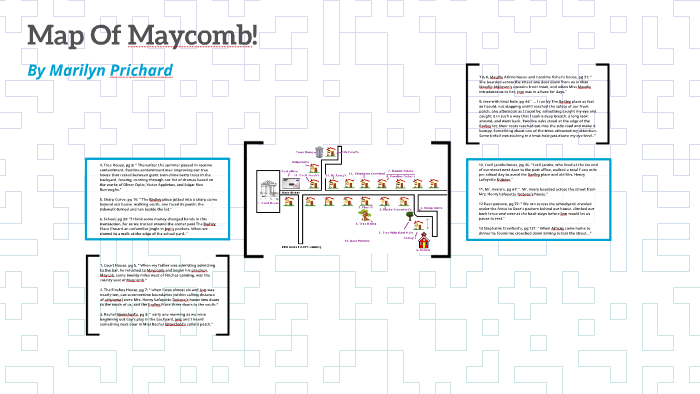 Map Of Maycomb! by Marilyn Prichard on Prezi