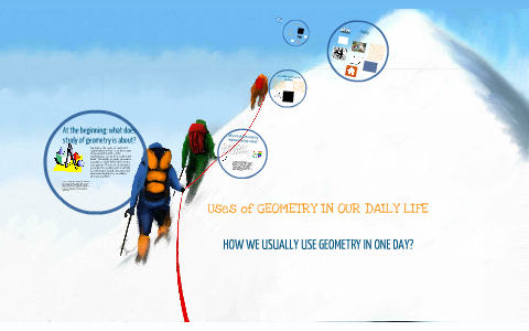 uses of geometry in our daily life