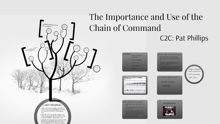 the importance of chain of command