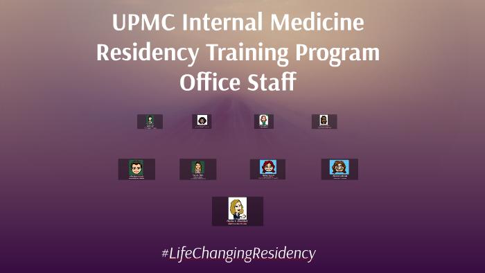 UPMC IM Residency Office Staff