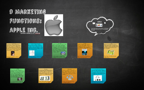 9 Marketing Functions Apple Inc By Brandon Jenkins