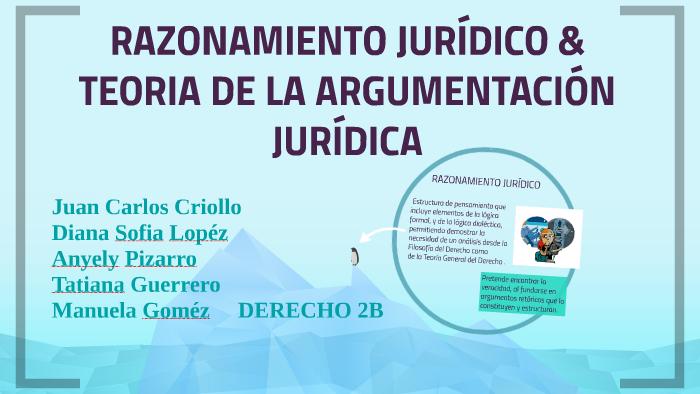 Razonamiento Juridico Amp Teoria De La Argumentación Juridica