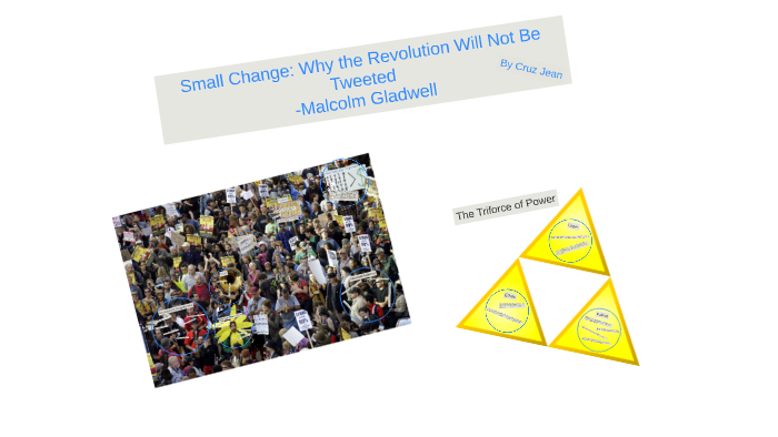 why the revolution will not be tweeted