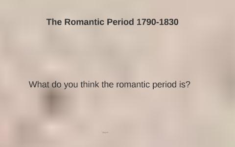 romanticism influences