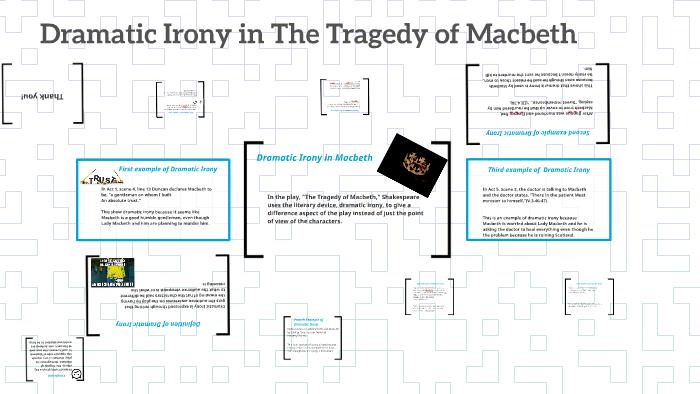 dramatic irony in macbeth act 3