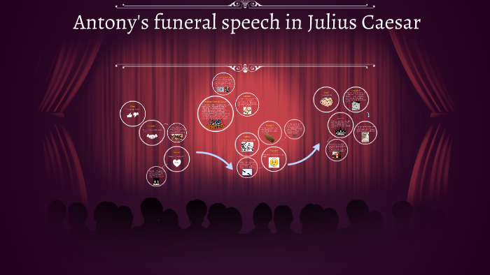 brutus and antonys funeral speeches