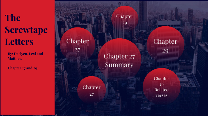 the screwtape letters chapter 27 and 28matthew jumper on prezi next