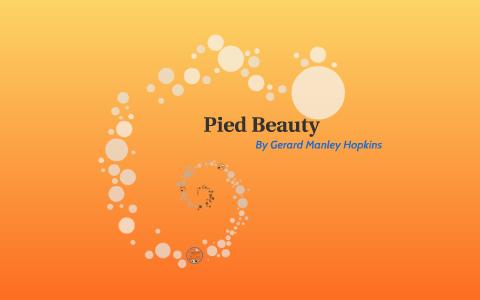 pied beauty poem analysis
