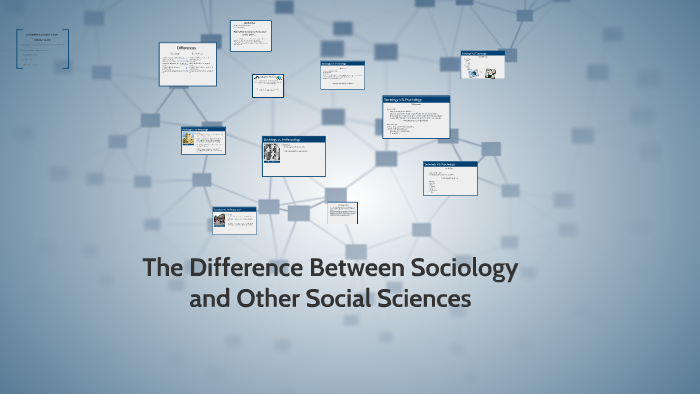 what makes sociology different from other social sciences