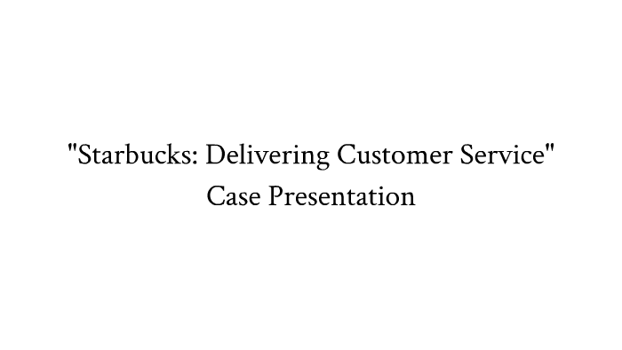starbucks customer segments