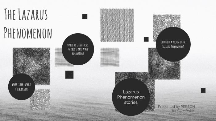 the Lazarus syndrome presentation by Layla LaNier on Prezi Next