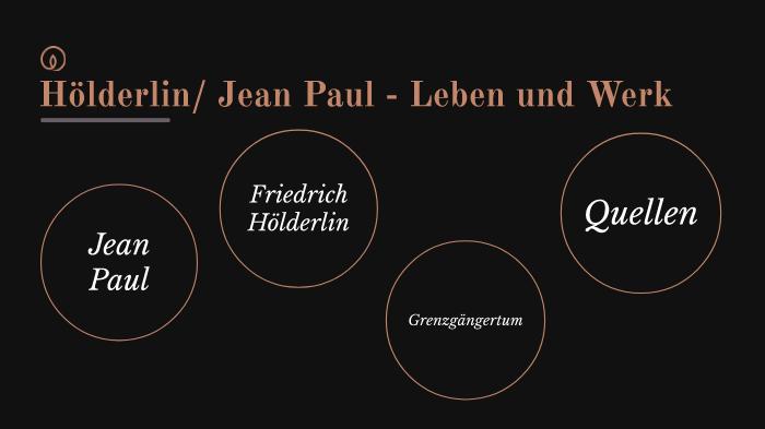 Jean Paul Hölderlin By Jannik Fiedler On Prezi Next