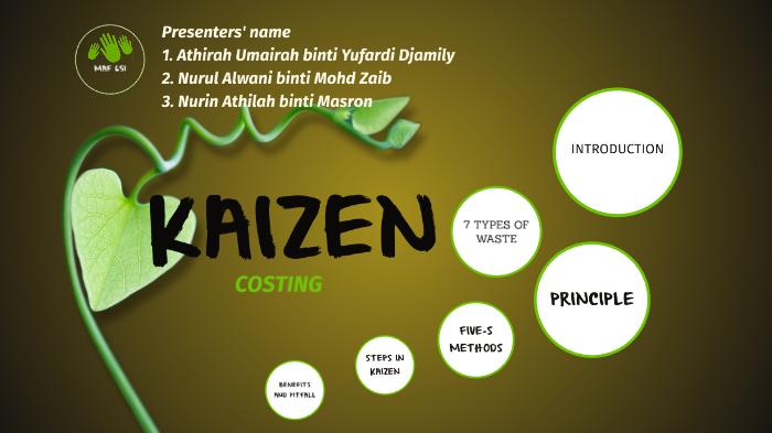 benefits of kaizen costing