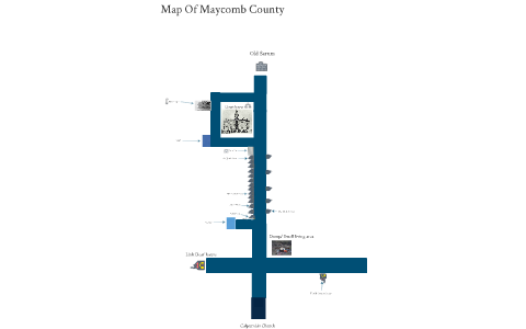 Map of Maycomb County by Sean Estep on Prezi