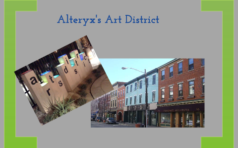 Alteryx's Art District by Laura Sellers on Prezi