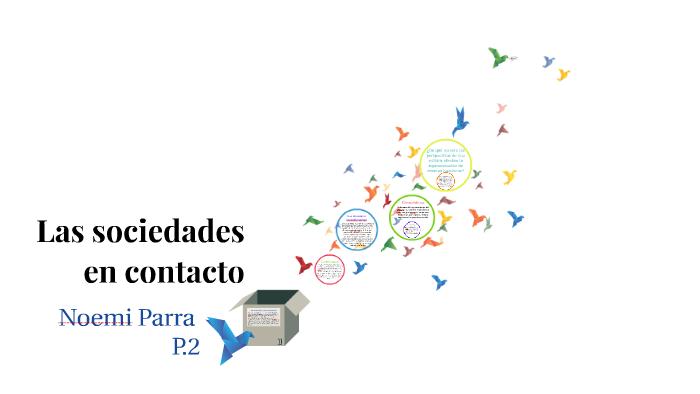 Las Sociedades En Contacto By Noemi Parra