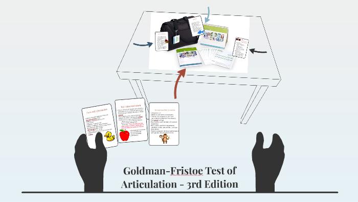 Goldman-Fristoe Test of Articulation - 3rd Edition by Lyndy