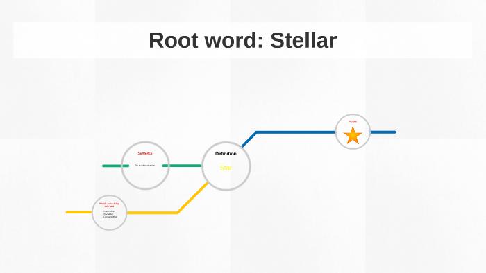Root Word Stella By Brandon Eckel