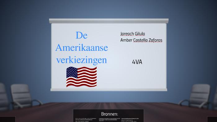 De Verkiezingen In Amerika By Amber On Prezi