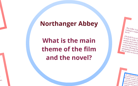 northanger abbey themes