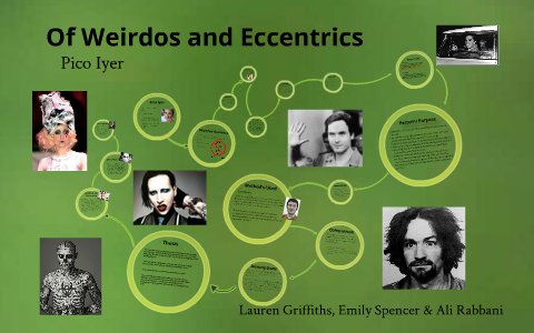 thesis of weirdos and eccentrics