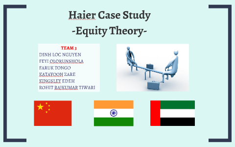 equity theory case study