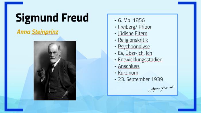 Sigmund Freud By Anna Steinprinz On Prezi
