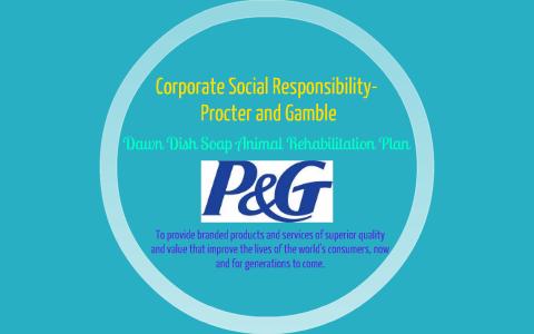procter and gamble csr