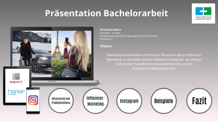 Bachelorarbeit Prasentation By
