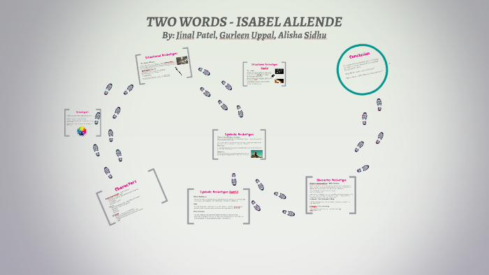 Two Words Isabel Allende By Jinal Patel On Prezi