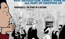 Persepolis 2 The Story Of A Return By Maha Ali