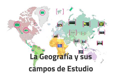 La Geografia Y Sus Campos De Estudio By Jose Salvador Alvarez Arevalo