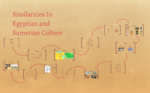 Similarities in Egyptian and Sumerian Culture by Brice
