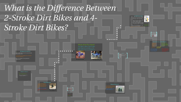 What is the Difference Between 2-Stroke Dirt Bikes and 4-Str
