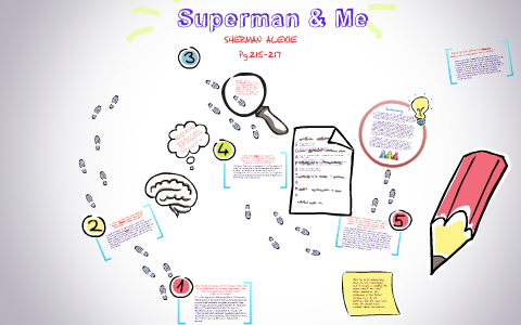 superman and me by sherman alexie summary