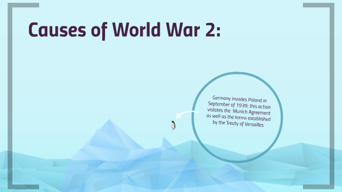 the treaty of versailles caused world war 2