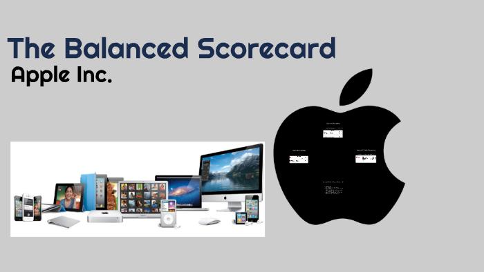 balanced scorecard apple company