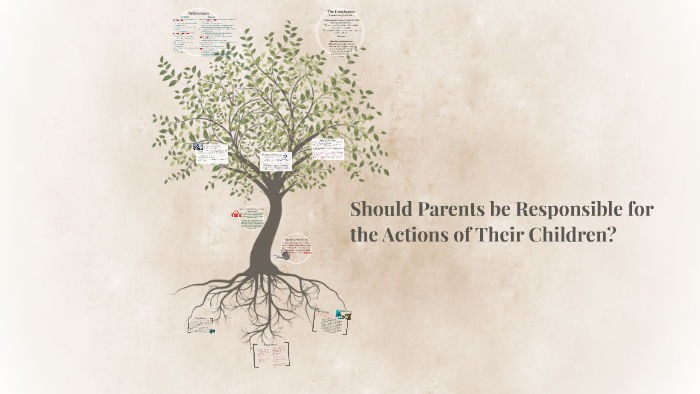 Should Parents Be Responsible For The Actions Of Their Child By Emily Howell