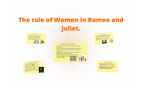 gender roles in romeo and juliet