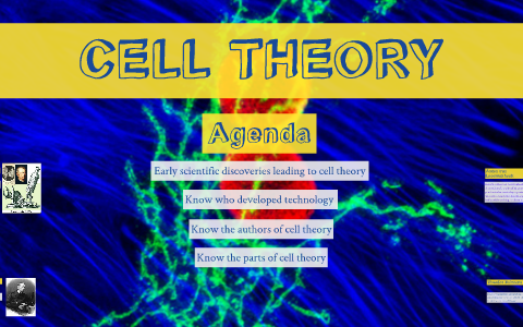 when was the cell theory developed