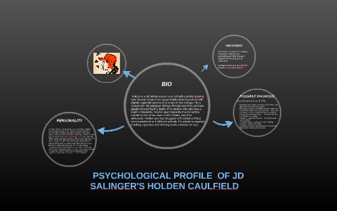 holden caulfield psychology