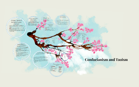compare and contrast confucianism and taoism