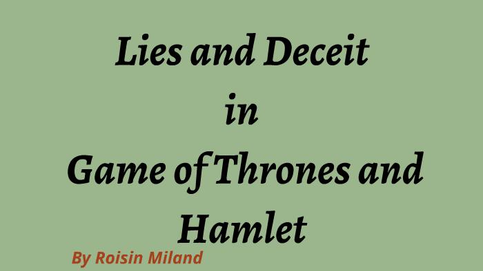 deceit in hamlet