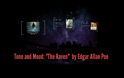 what is the mood of the raven