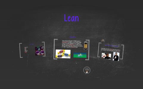 Lean by Isaac McCabe on Prezi