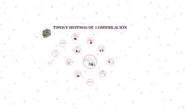 Tipos Y Sistemas De Comunicacion By Jessenia Gamboa
