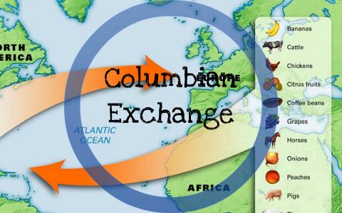 Columbian Exchange By Josh Patrick On Prezi