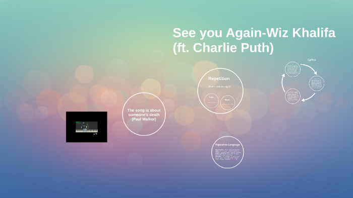 See You Again-Charlie Puth by Katie L