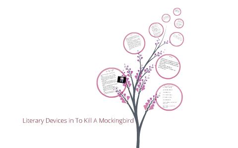 literary device examples in to kill a mockingbird