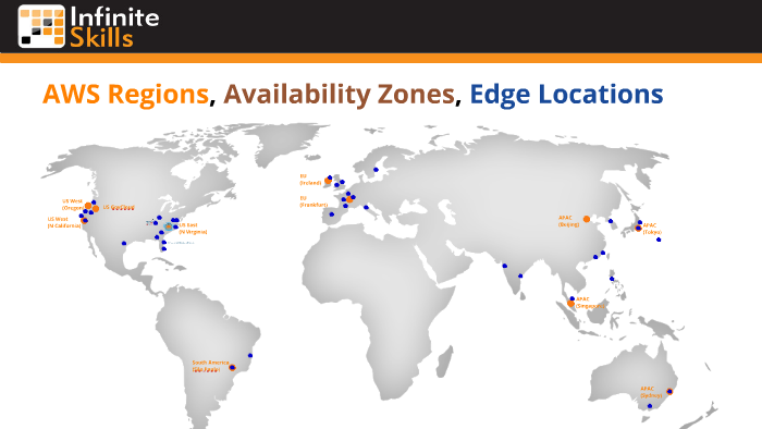 AWS Regions, Availability Zones, Edge Locations by rICh morrow on Prezi